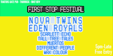 FIRST STOP FESTIVAL Twitter image